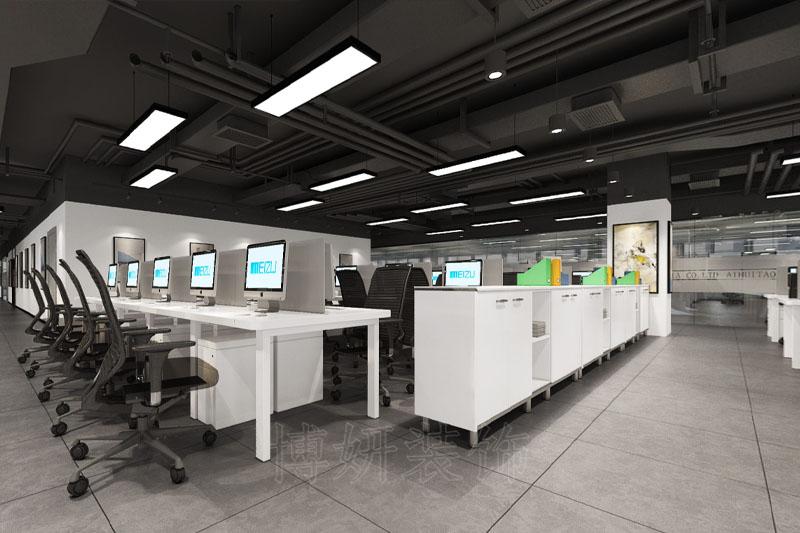 合肥电商企业办公室装修案例
