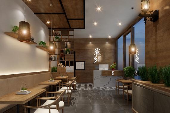 山魚鄉甜品店裝修設計案例
