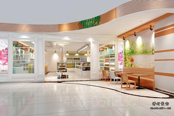 几款各具风格的进口食品便利店装修案例