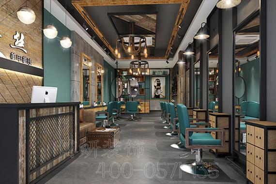 杭州理发店装修设计案例|艾丝