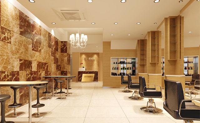 杭州美发店装修设计案例