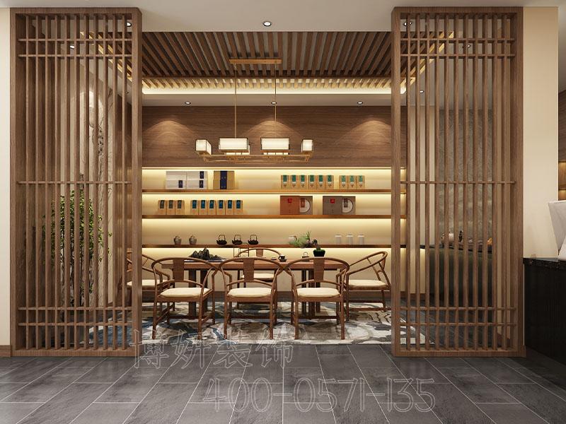 杭州茶叶店装修设计