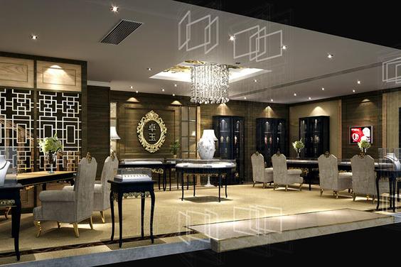 杭州高端珠寶店裝修設計|卓玉