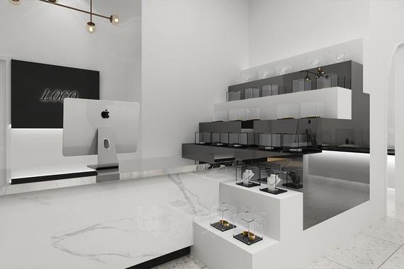 杭州臨平奢侈品店裝修設計