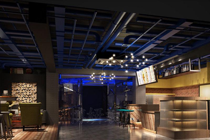 杭州网咖装修,杭州网咖装潢设计,杭州网咖装修效果图,杭州装修企业