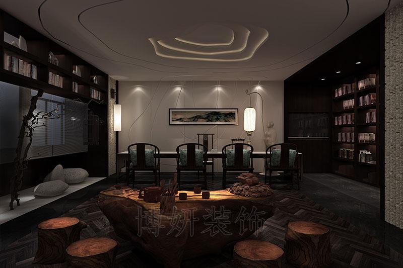 杭州书画展厅装修,杭州书画展厅装潢设计,杭州书画展厅装修效果图,杭州装修企业