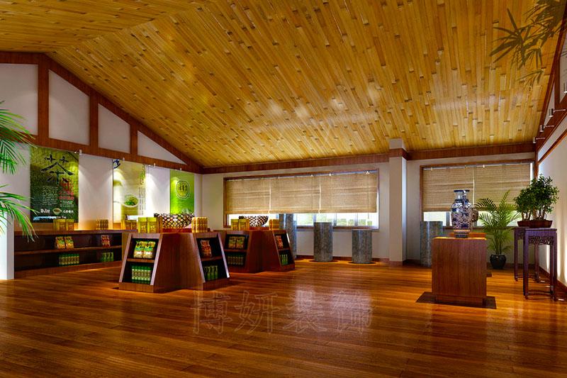 杭州茶叶店装修设计案例