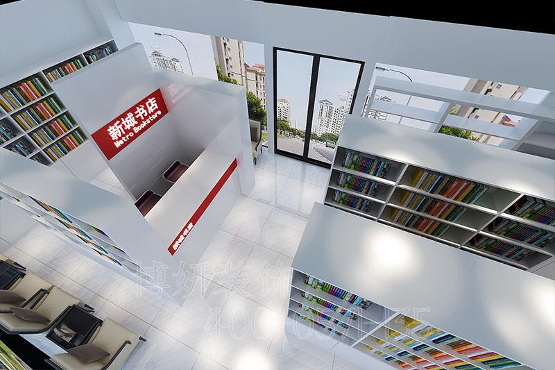 展厅装修,书店装修,杭州书店装修