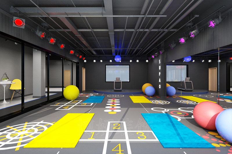 杭州运动健身直播间装修设计