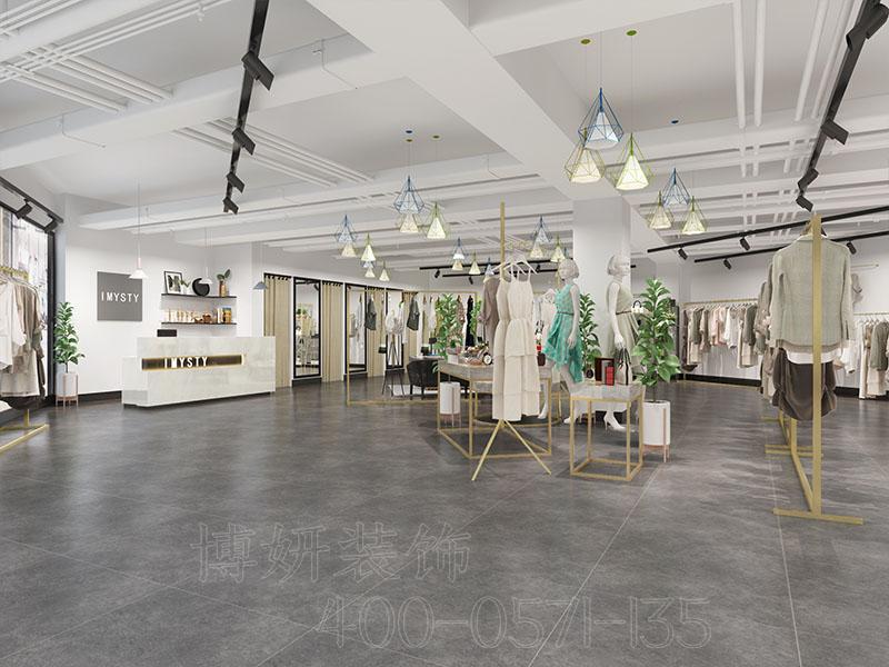 女装店装修案例,杭州女装店装修,女装店装修案例,店铺装修