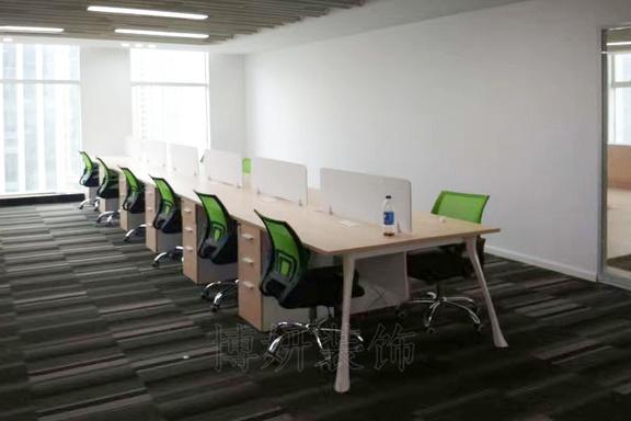 联合财富中心办公室家具完工效果