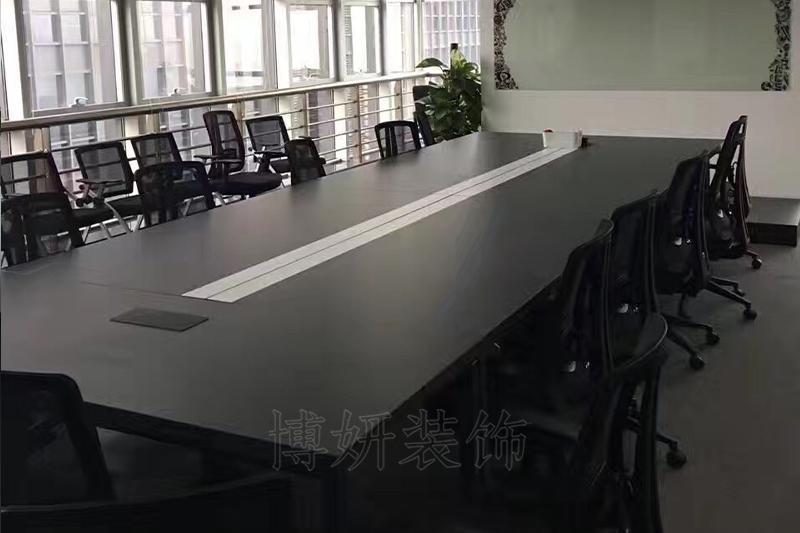 当虹科技办公室家具完工效果
