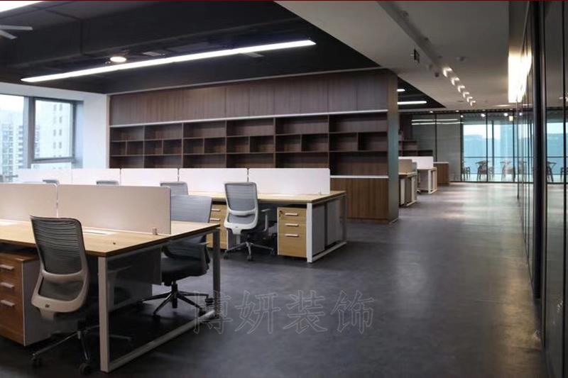 寰宇天下办公室家具完工效果