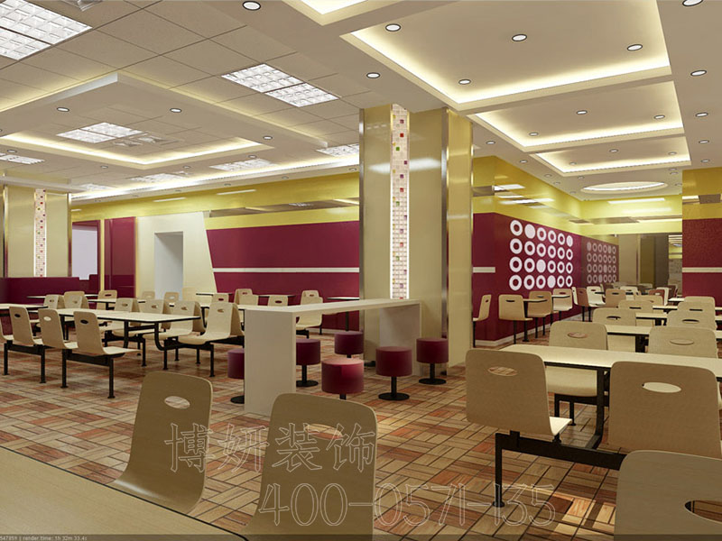 杭州公司餐厅装修设计,杭州公司餐厅装潢,杭州公司餐厅装修效果图,杭州装修公司