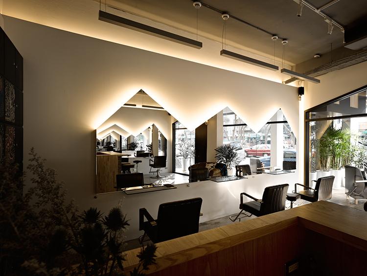 200平米理发店装修费用,200平米理发店装潢设计,杭州理发店装修公司装修效果图,杭州装修公司