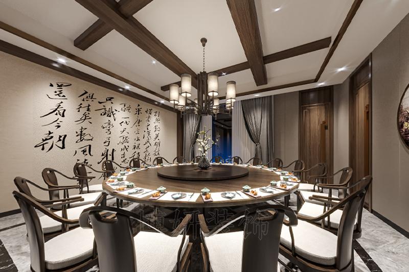 杭州中式餐厅装修,杭州中式餐厅装潢设计,杭州中式餐厅装修效果图,杭州装修企业