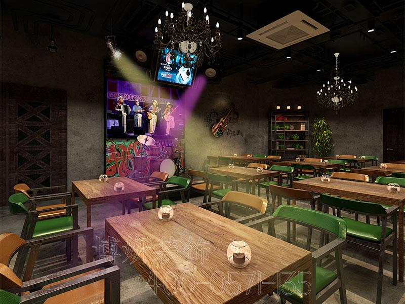 杭州酒吧酒馆装修,酒吧酒馆装修效果,杭州靠谱工装公司,博妍装饰