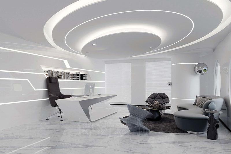 杭州西州社大型办公空间装修设计案例