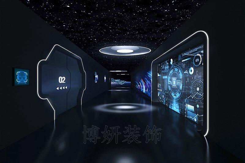 杭州西州社大型辦公空間裝修設計案例
