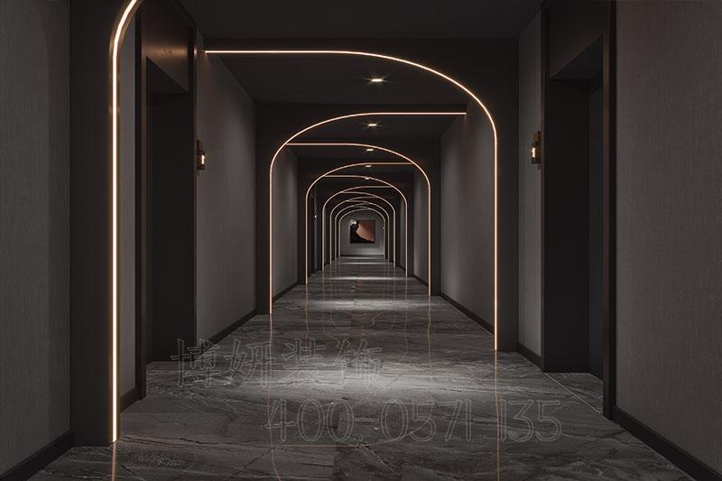 杭州高级足浴养生会所装修设计案例