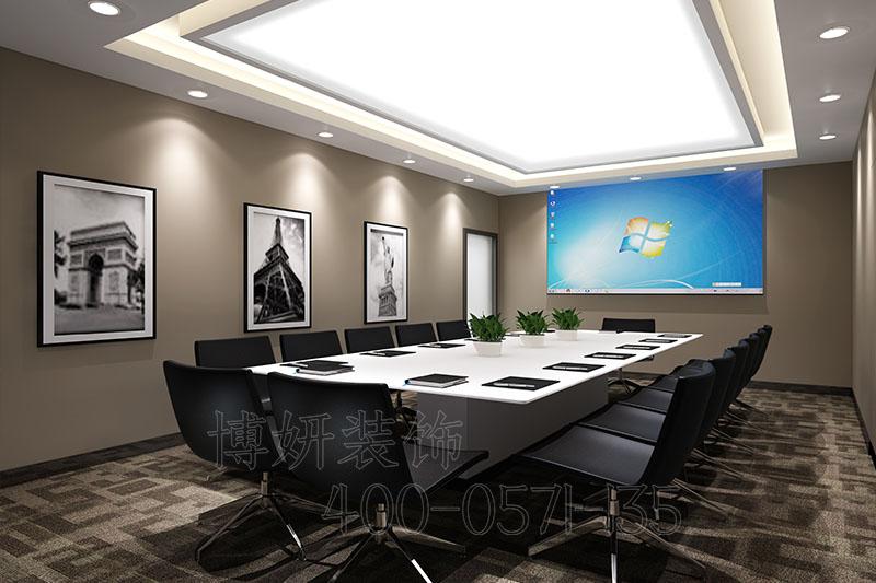 杭州未来科技城办公室装修案例