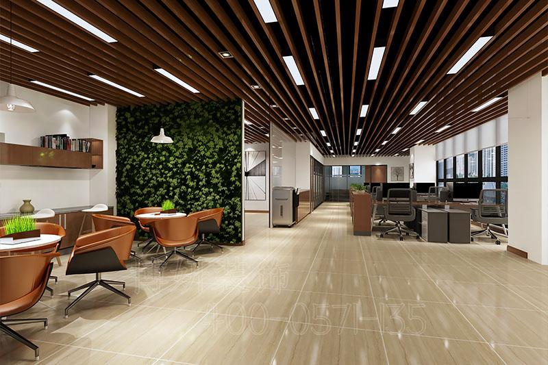 能源科技企业办公室装修案例