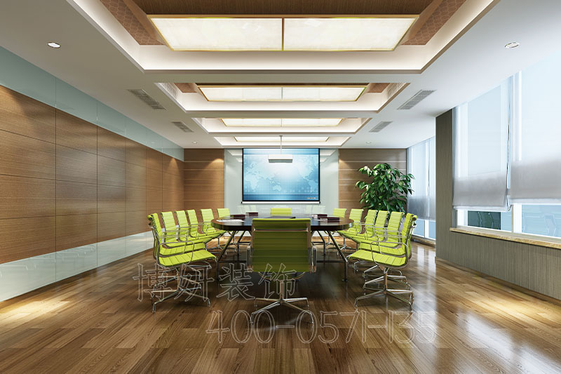 永川建工检测企业办公室设计案例