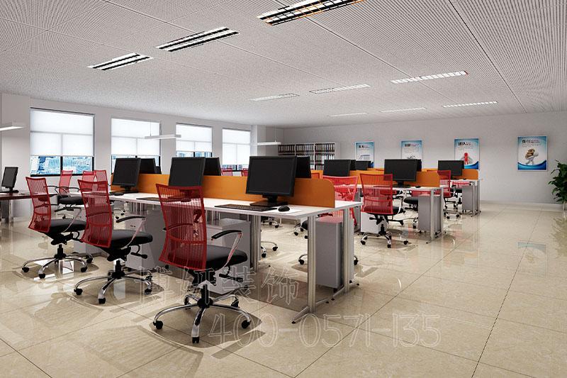 办公室中装修,杭州办公室装修,装修设计,办公楼装修