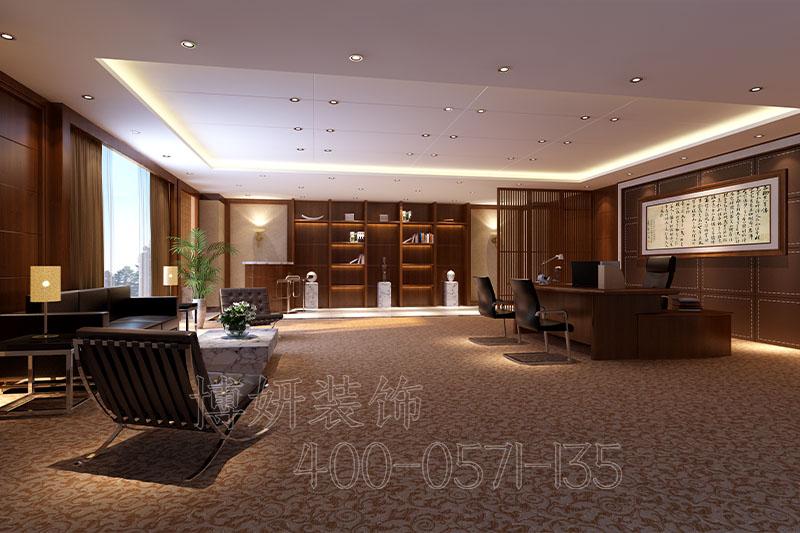 江干区科技企业办公室装修设计案例
