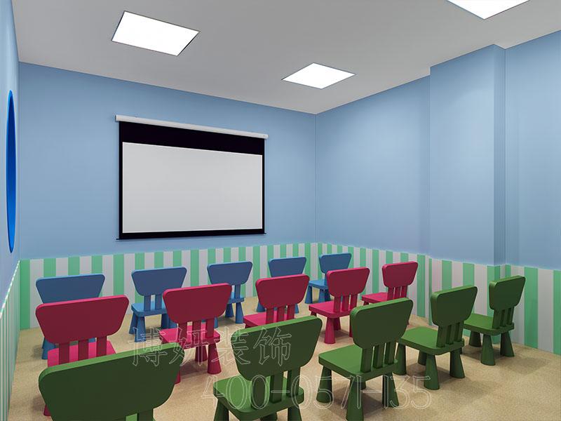 美国科蒂思维学科英语培训学校装修案例
