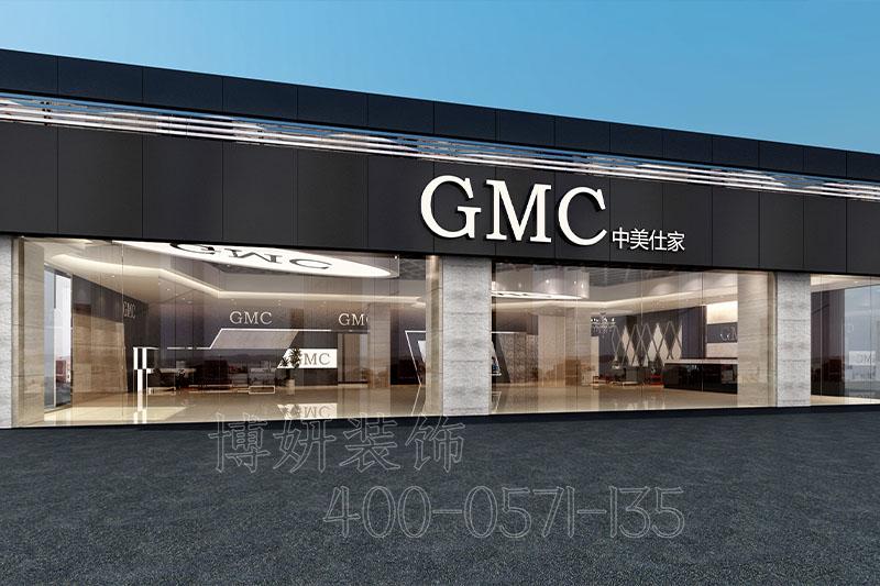 杭州GMC房车汽车展厅装修设计案例