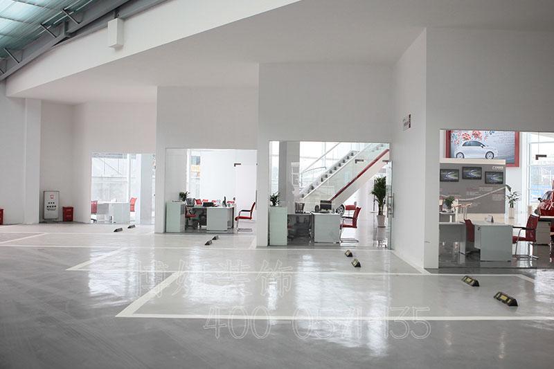 杭州菲亚特汽车展厅装修设计案例