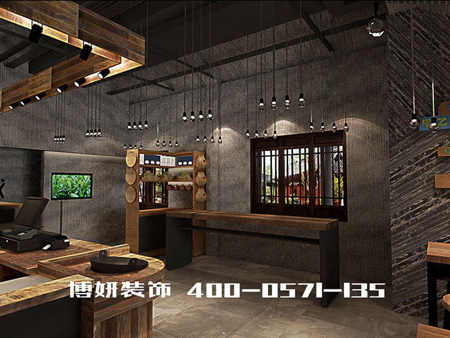 杭州福海堂茶叶博物馆装修设计案例
