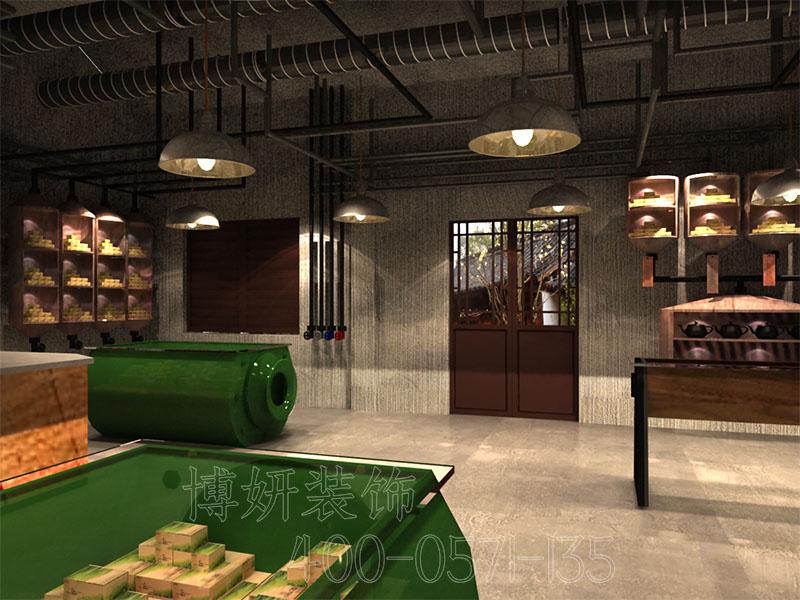 杭州聚芳永茶叶博物馆装修案例