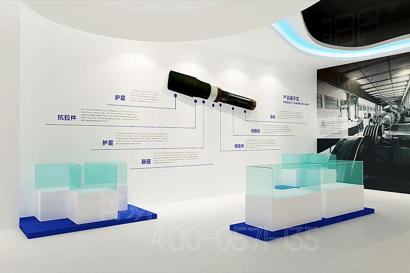 建材企业建材产品展厅设计案例