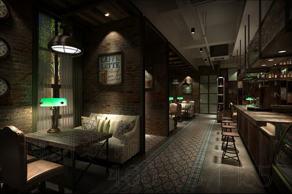 杭州咖啡店裝修設計案例