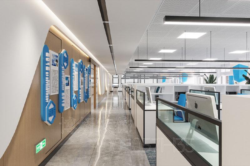 杭州宜路工程办公室设计装修案例—装修效果赏析