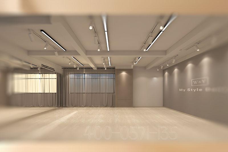 杭州舞蹈培训机构装修设计案例