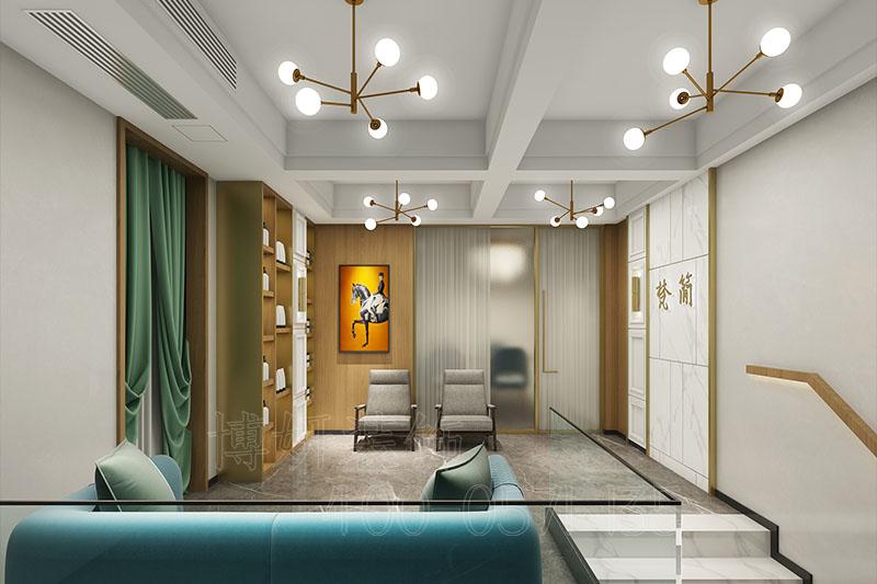 杭州梵简美容美发店装修设计-专业美容空间设计效果案例