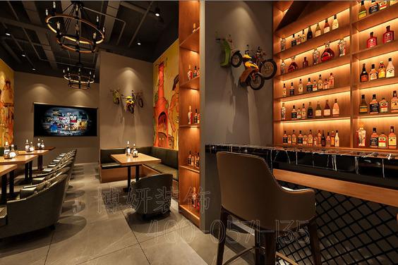 杭州17度酒吧裝修設計-專業娛樂空間設計效果案例