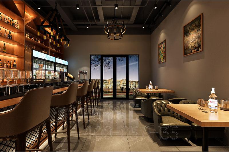 杭州17度酒吧装修设计-专业娱乐空间设计效果案例