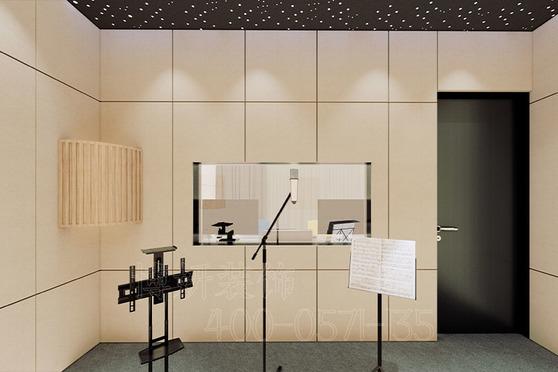 杭州天元科技錄音棚裝修設計案例