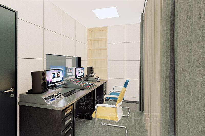 杭州天元科技录音棚装修设计案例