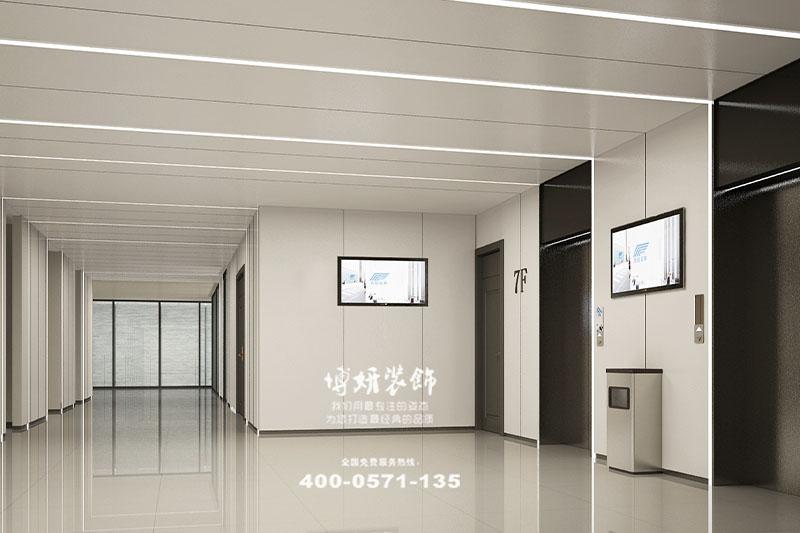 杭州迪兴资产办公室装修设计-专业办公场所案例效果