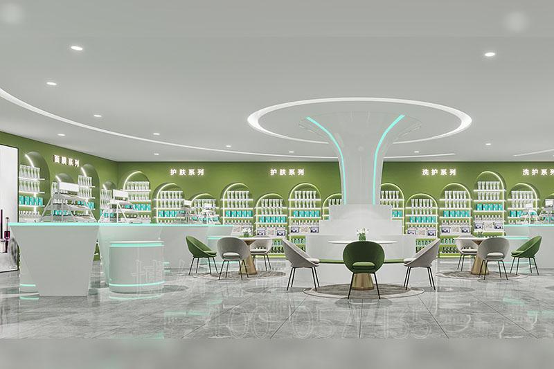 杭州生物科技有限企业办公室装修设计案例