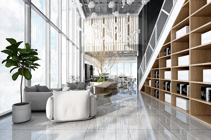 杭州保融科技关瑞大厦项目设计装修案例—装修效果赏析