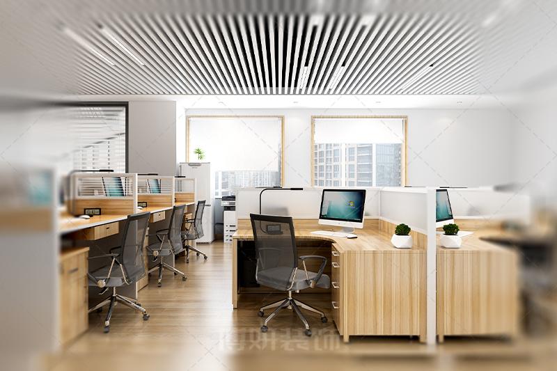 杭州昌地火炬大厦办公室设计装修案例赏析