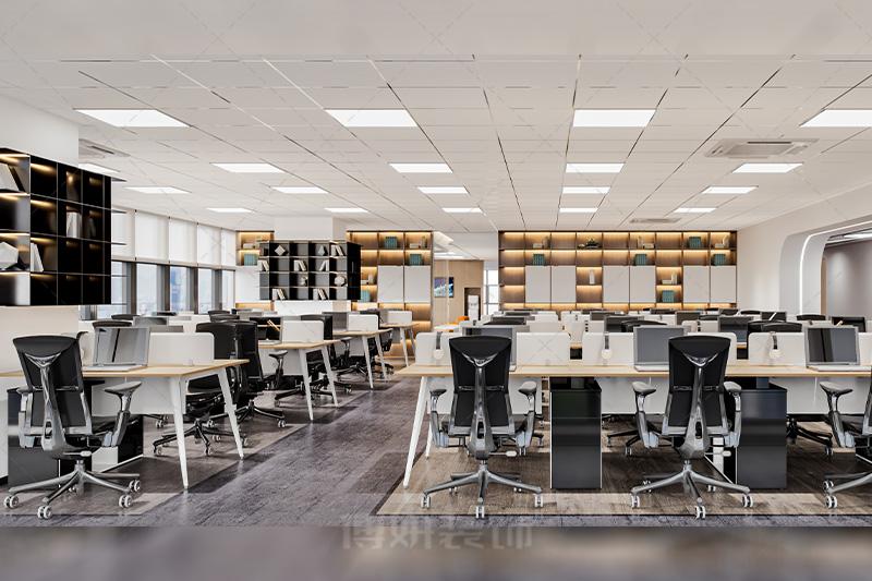 杭州飞象企服办公室设计装修案例赏析