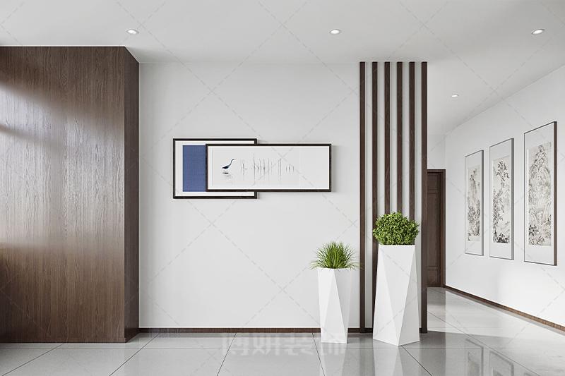 杭州双木电力办公室设计装修案例赏析