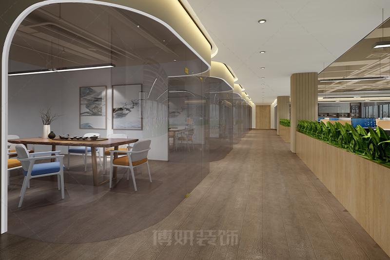 杭州转塘灵枸集团办公室设计装修案例赏析